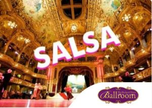 Salsa in the Blackpool Tower Ballroom