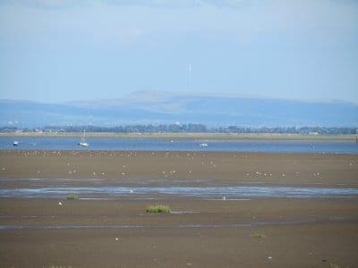 Looking across the Ribble Estuary
