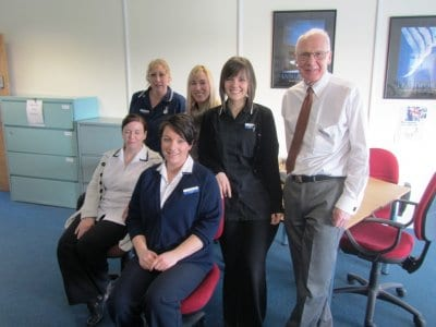 Friendly team at the MAC Memory Assessment Centre