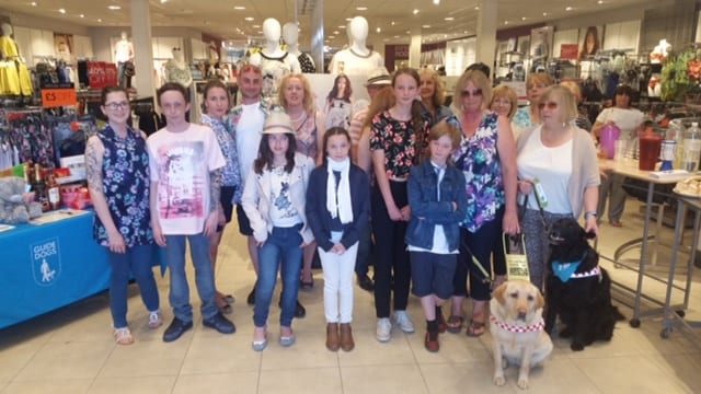M&Co Cleveleys, fundraising for Community Name a Guide Dog Puppy