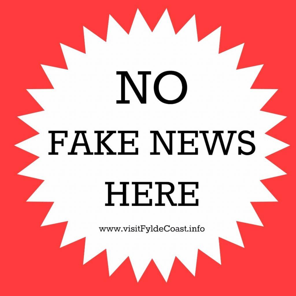 No Fake news here