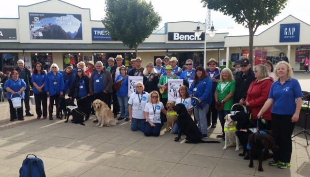 Blackpool and Fylde fundraising to name a Guide Dog puppy