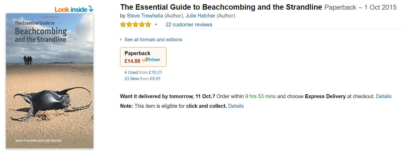 Essential guide to Beachcombing and the Strandline book