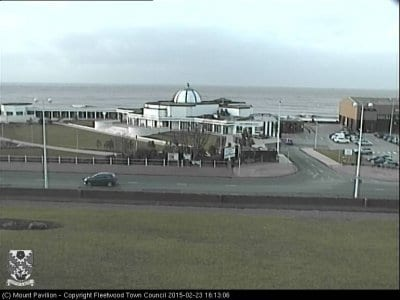 Fleetwood web cam live from The Mount