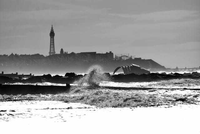 View of Blackpool from Cleveleys - explore with Visit Fylde Coast