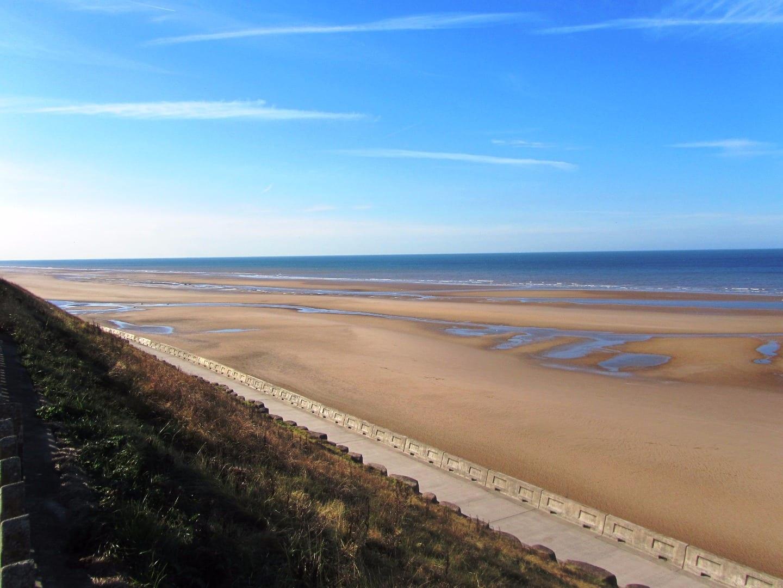 North shore at Blackpool