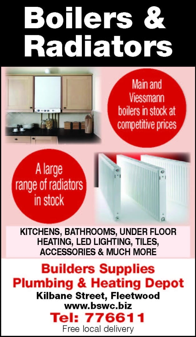 Boilers and radiators from Builders Supplies