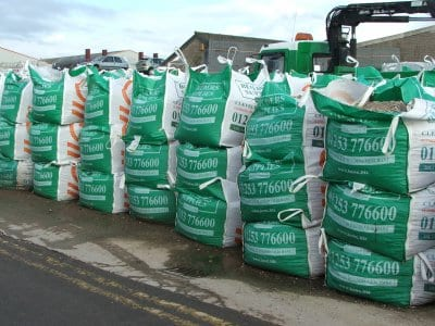 Bulk bags at Builders Supplies