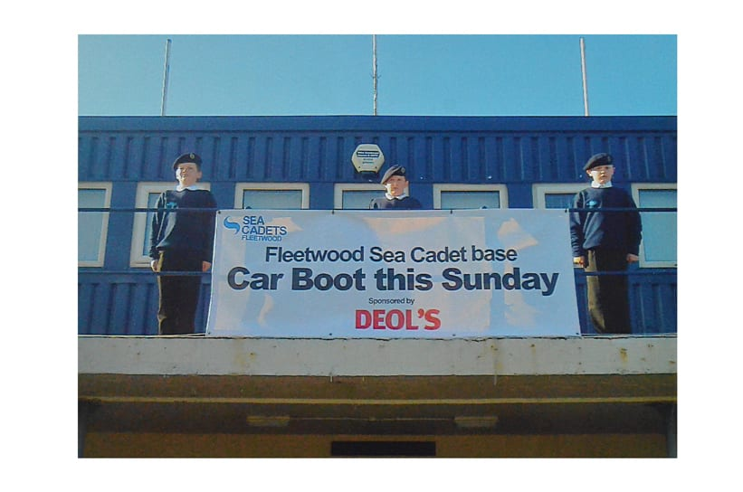 Car Boot Sale at Fleetwood Sea Cadets