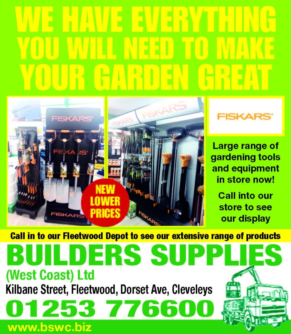 Garden equipment and supplies from Builders Supplies