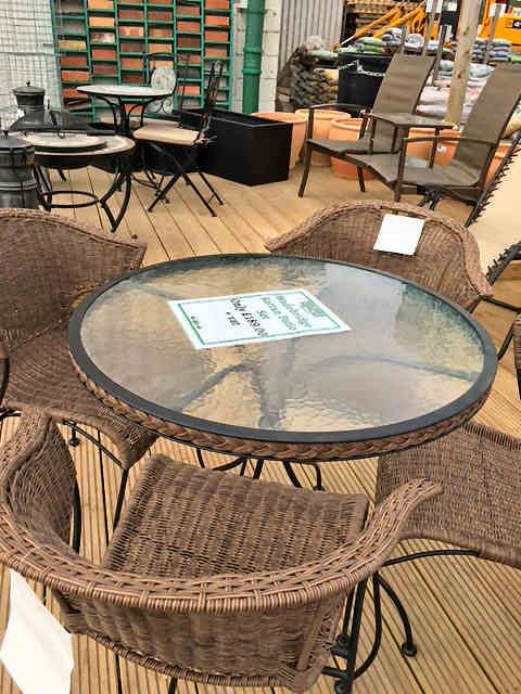 Garden Furniture from Builders Supplies Fleetwood
