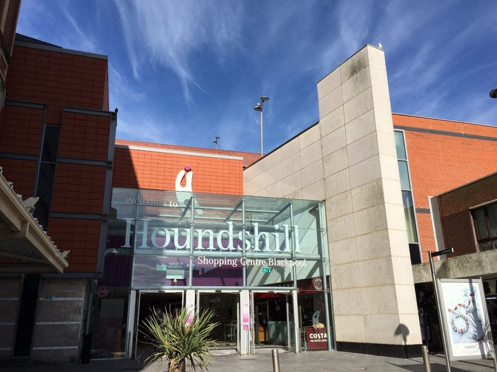 The Houndshill Shopping Centre, Blackpool