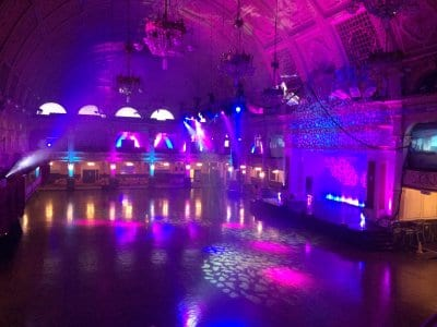 The Empress Ballroom at the Winter Gardens