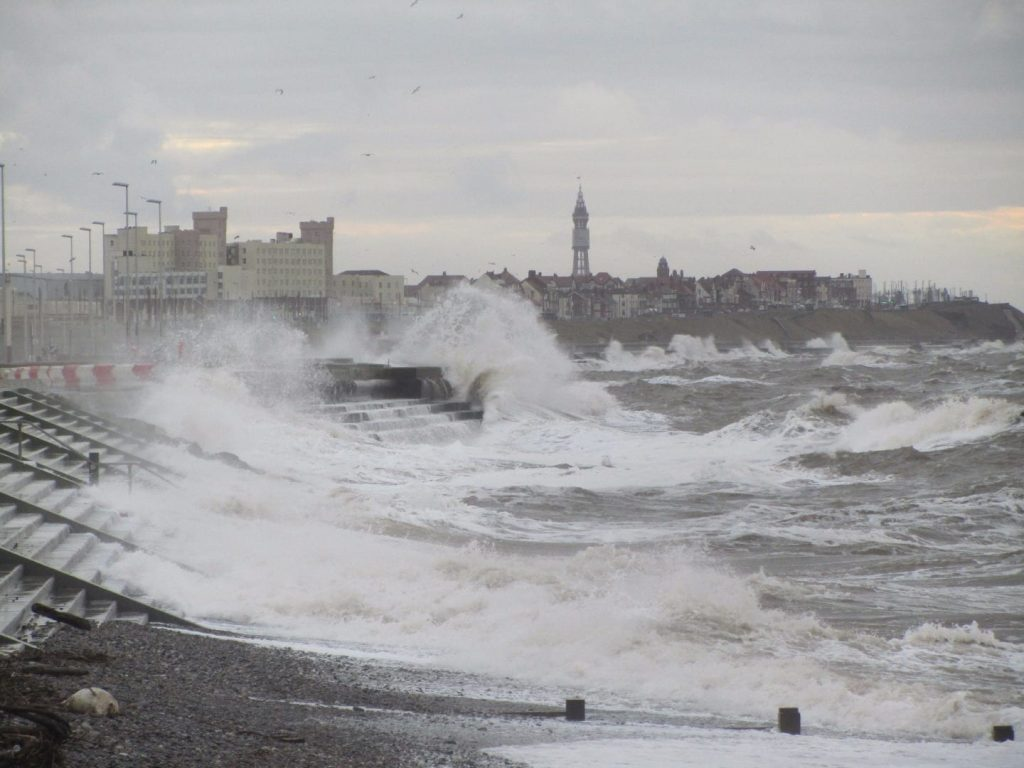 Expect bad weather when you're moving to the seaside