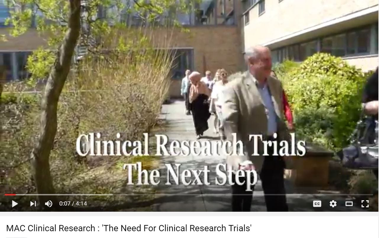 MAC Clinical Research Trials on new Dementia Drug
