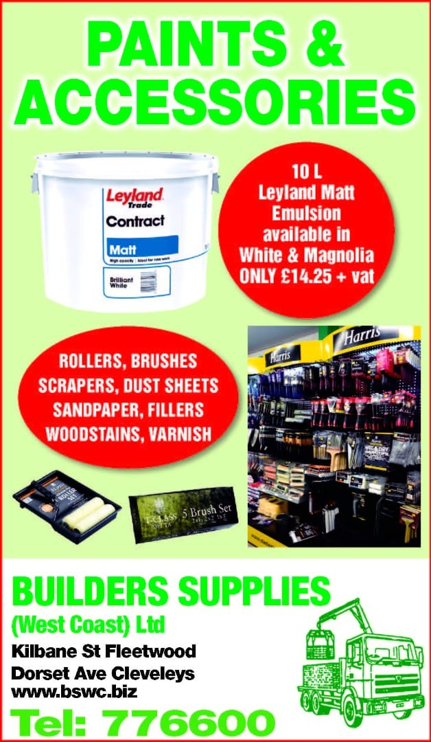 Painting and decorating equipment at Builders Supplies