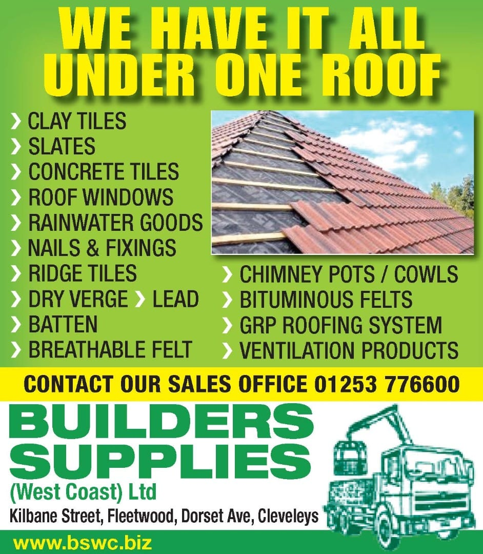 Roofing material from Builders Supplies
