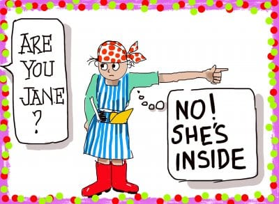 'Are you Jane?' The Craziness of Chrissie Towers
