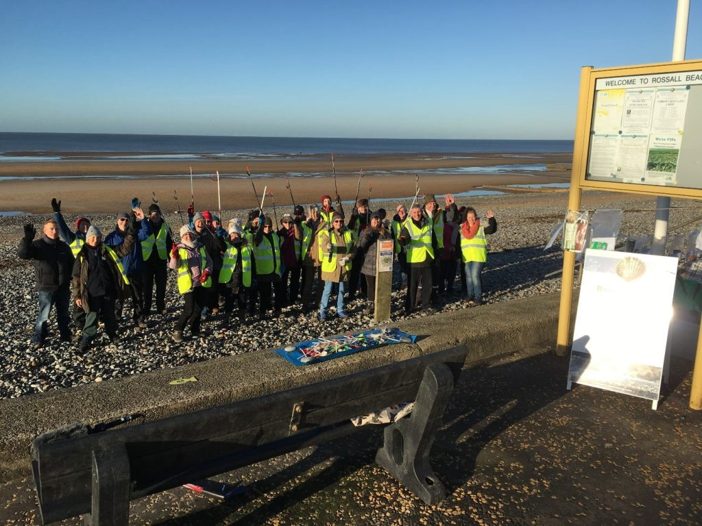 Rossall Beach Residents & Community Group at Cleveleys