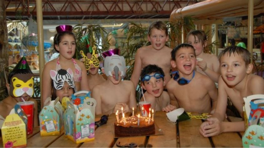 Birthday parties at the Sandcastle