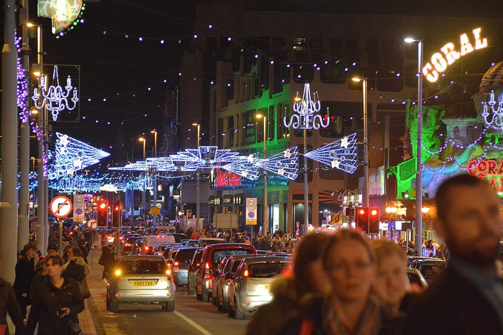 Enjoy the Blackpool Illuminations, the greatest free lightshow on earth!