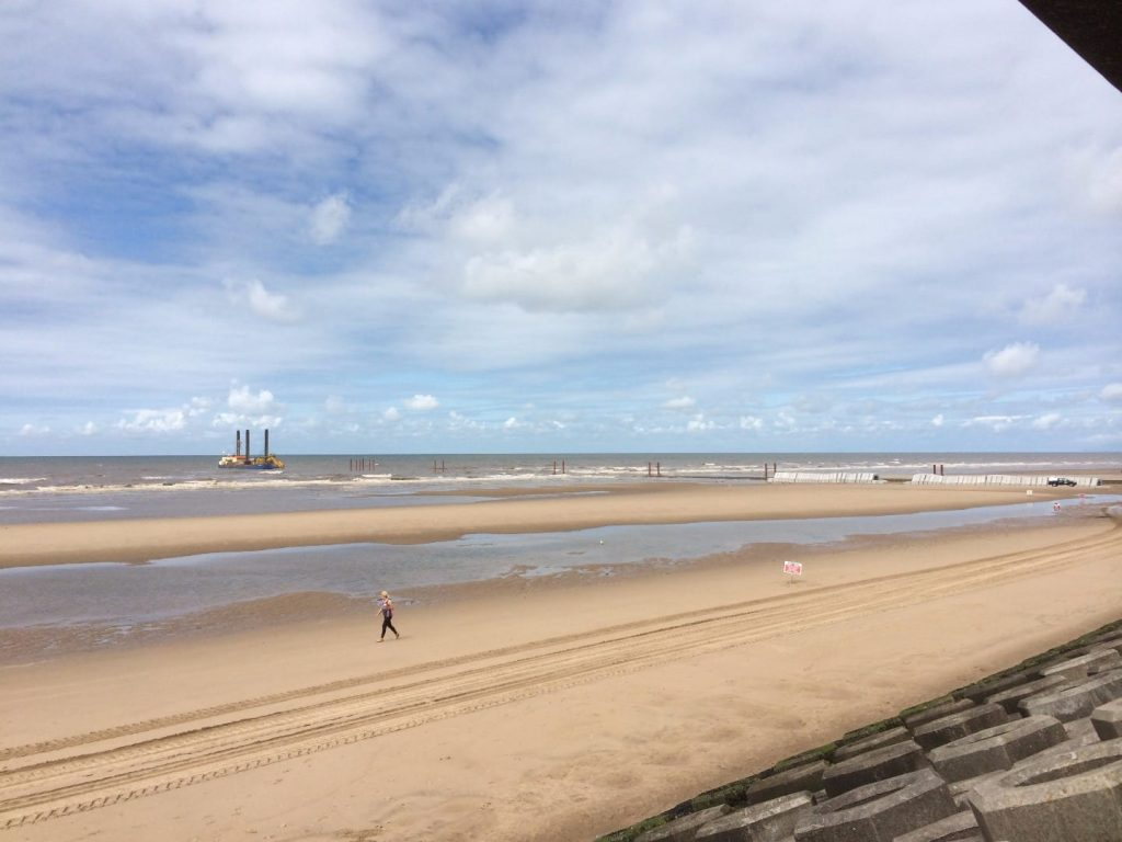 Blackpool south beach - with a Blue Flag! The best of the Fylde Coast beaches