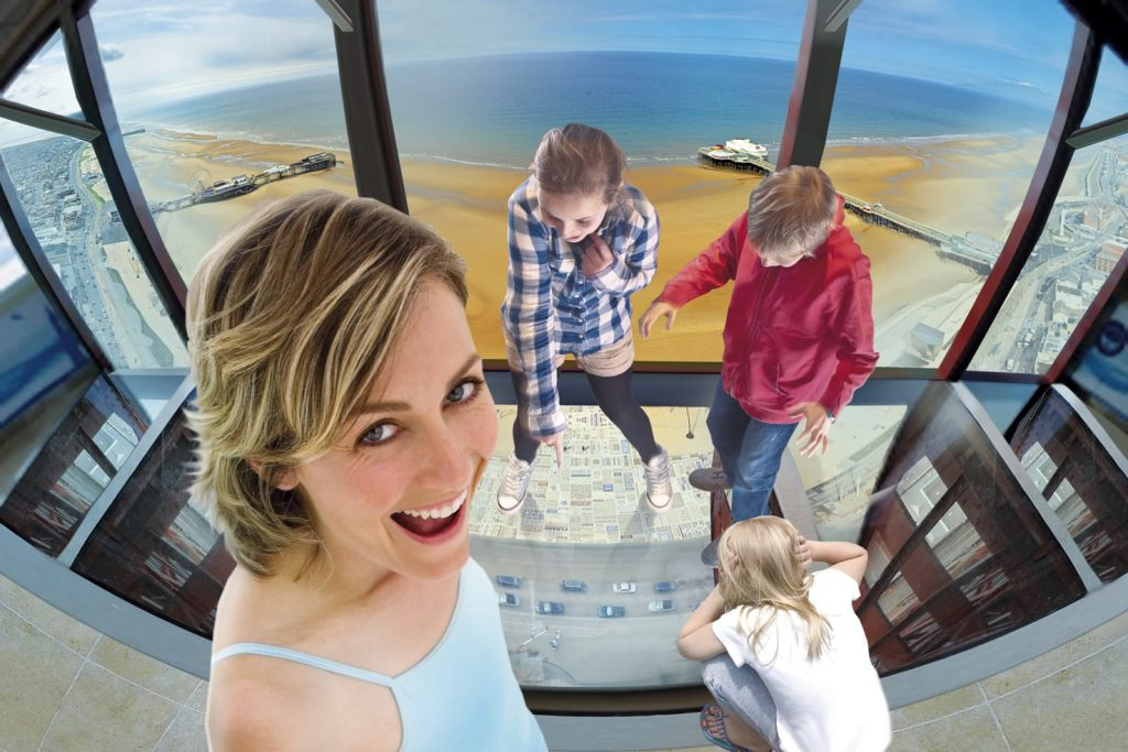The Blackpool Tower Eye Skywalk