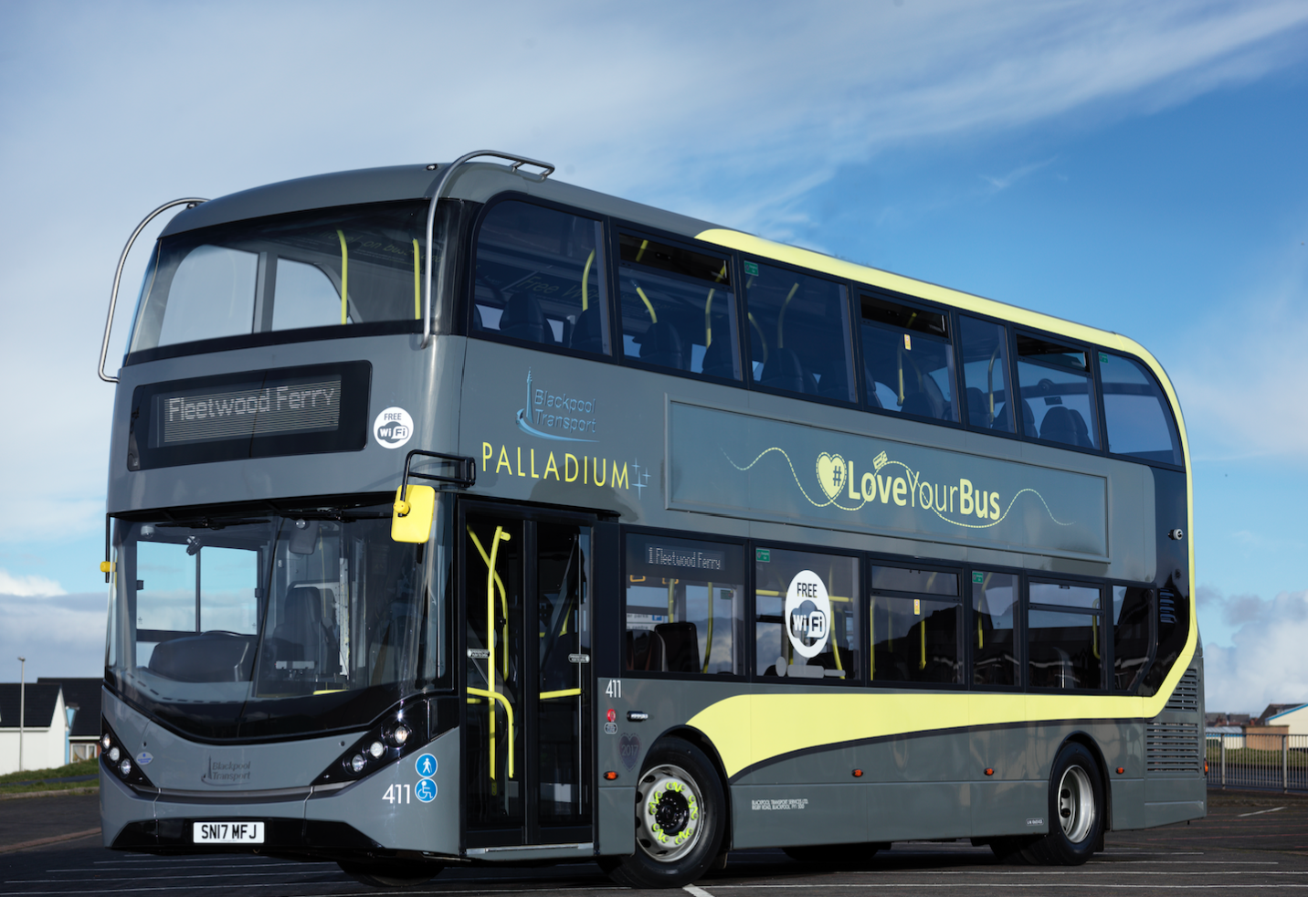 Blackpool Transport Palladium, Enviro 400 City Bus