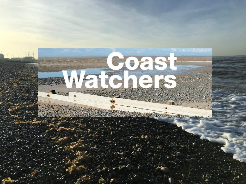 Coast Watchers, recording weather conditions at sea
