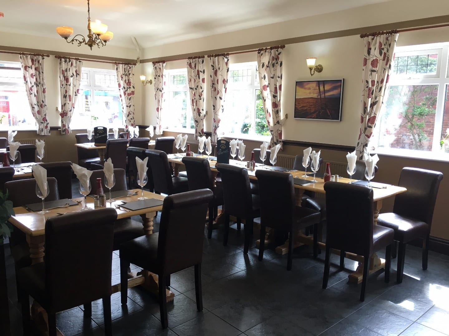 Dining room at the Strawberry Gardens Fleetwood