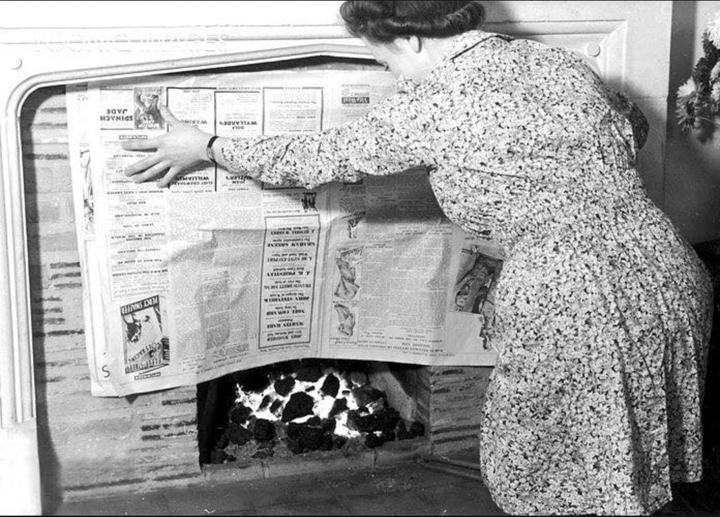 The Good Old Days with a Coal Fire - Chrissie Blogger - Visit Fylde Coast