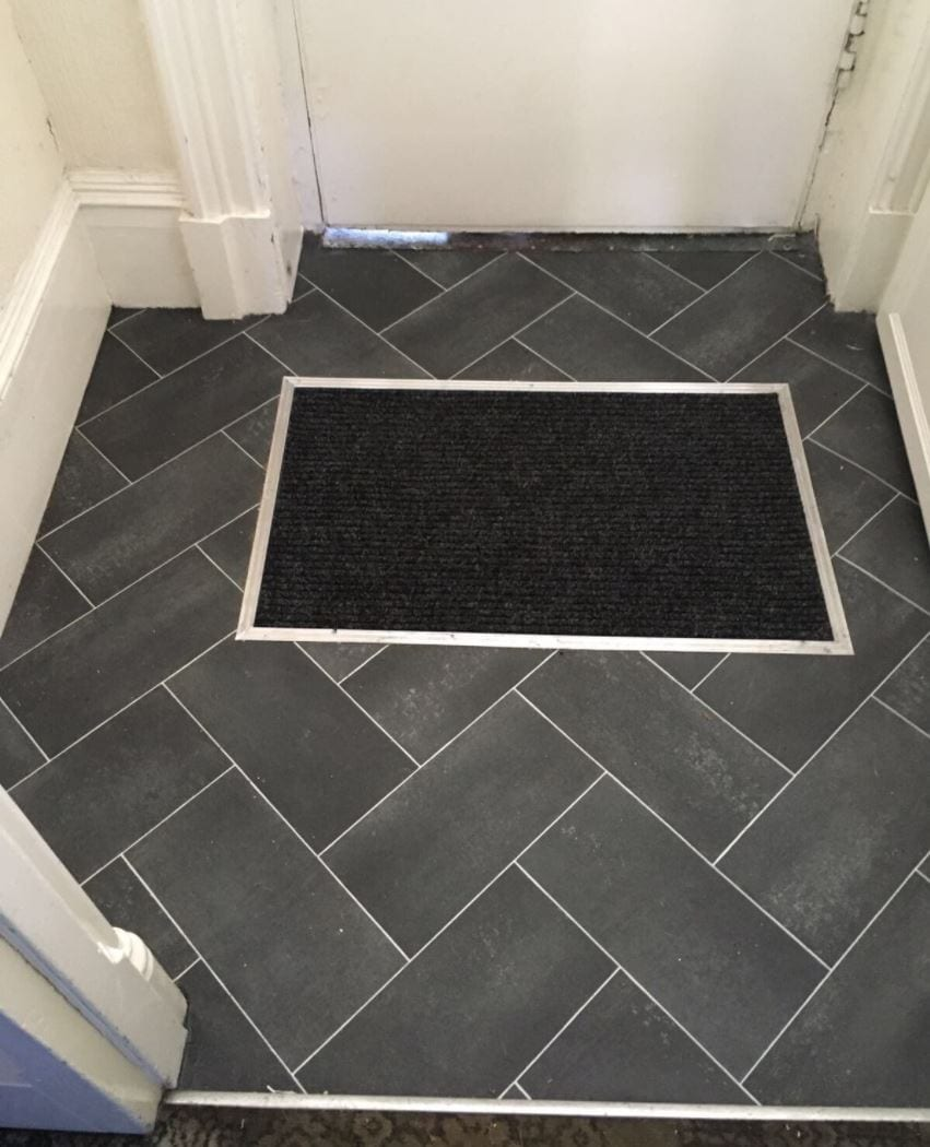 Great first impressions with your entrance porch, fitted by The Carpet Store Poulton