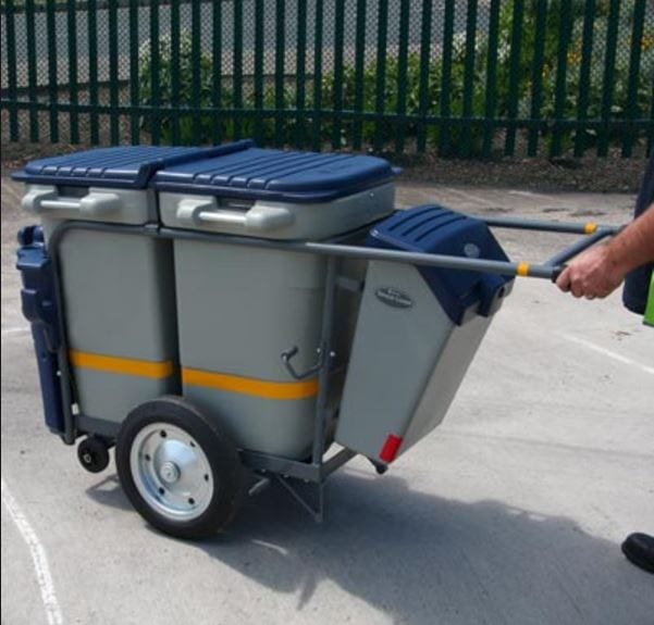Rubbish cart