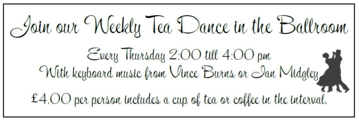 Tea Dance at the North Euston Hotel