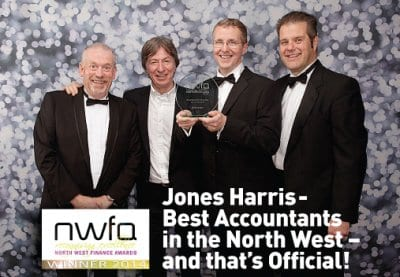 Jones Harris win Accountancy Firm of the Year Award