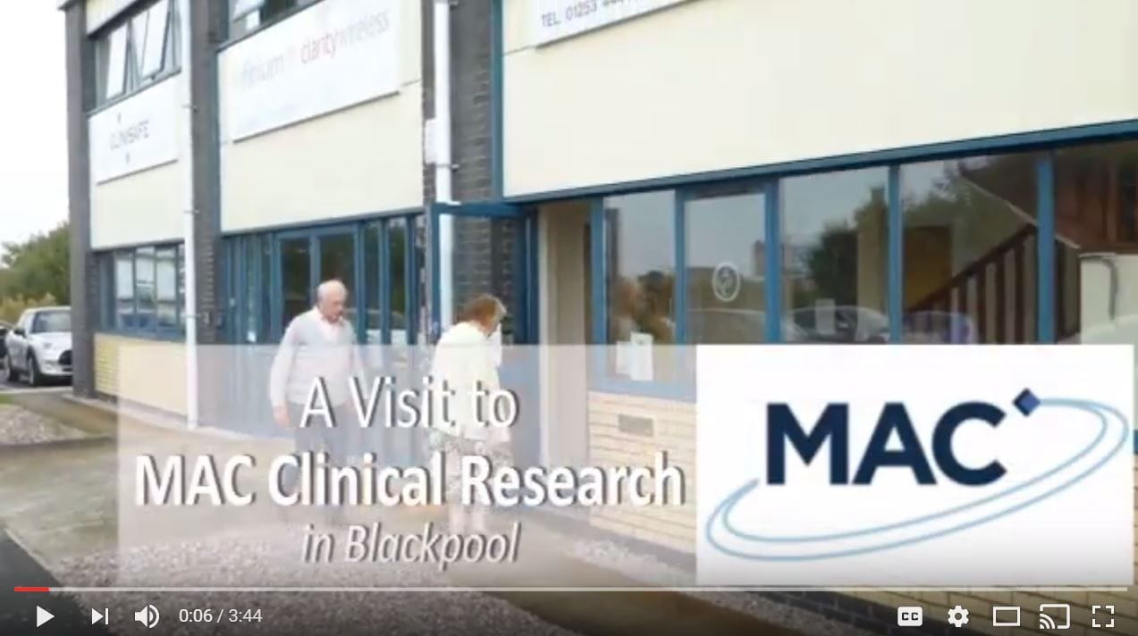 Video: visit to Mac Clinical Research