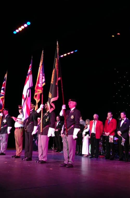 Music for Heroes at Blackpool Winter Gardens