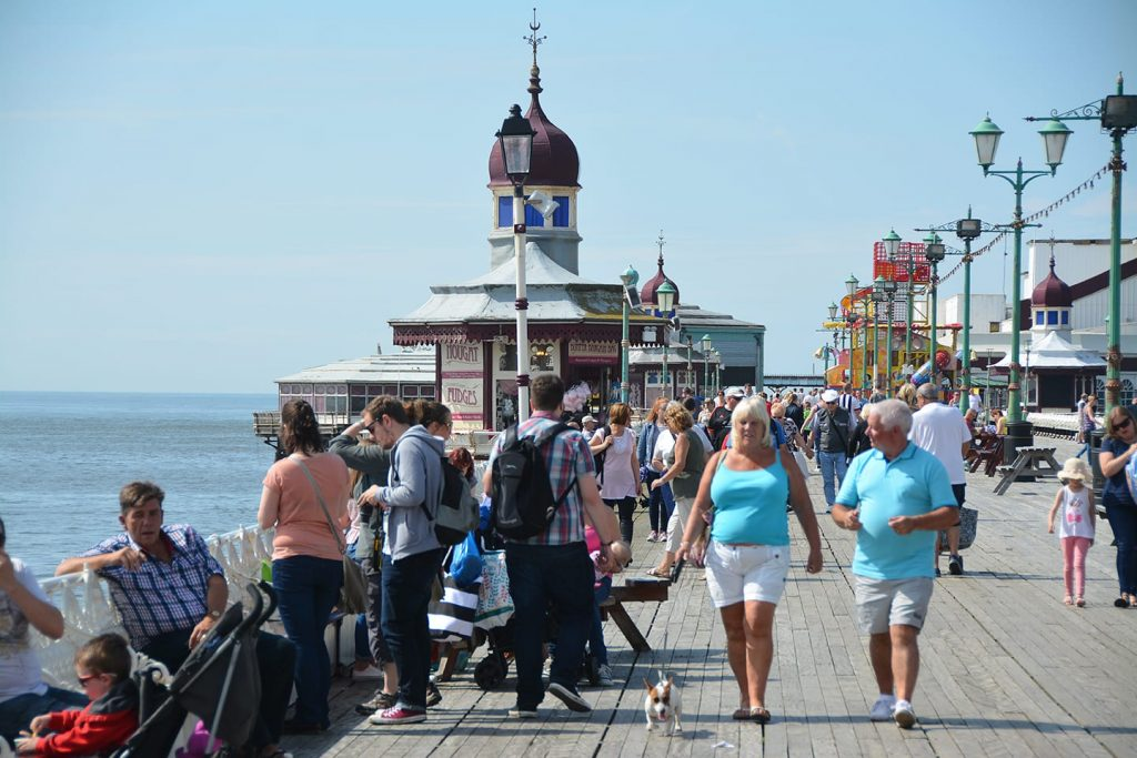 Kiosks on Blackpool North Pier