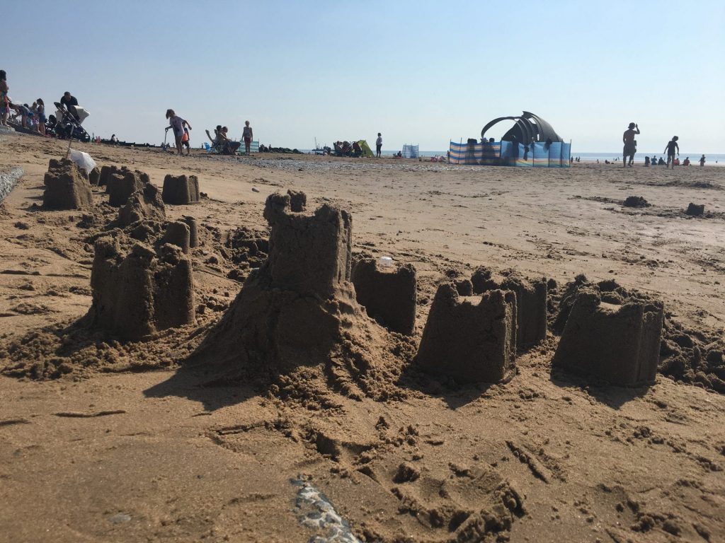 Build sandcastles when you visit the beach