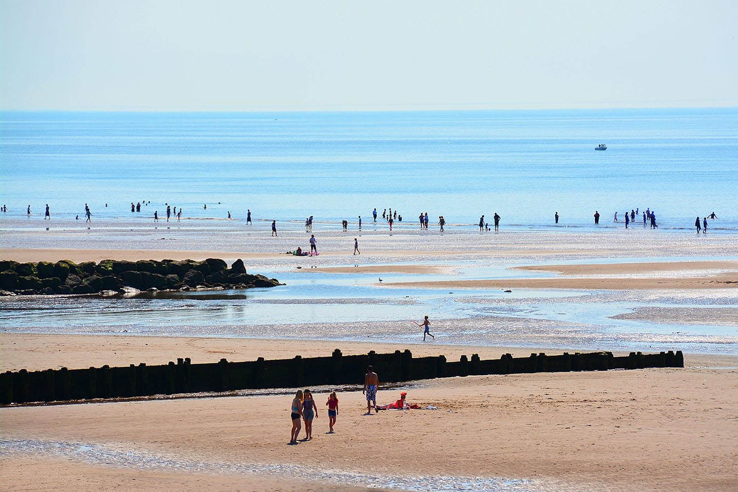 Chatter from Chrissie Towers - Cleveleys beach, summer 2018
