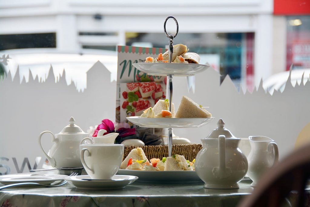 Afternoon Tea at the New Penny of Poulton
