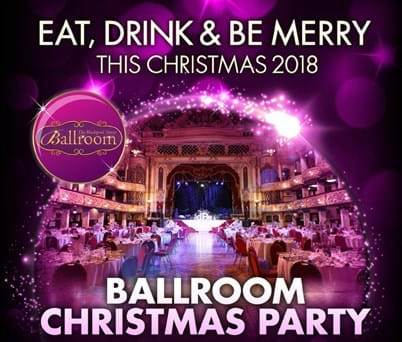 Ballroom Christmas Parties at Blackpool Tower