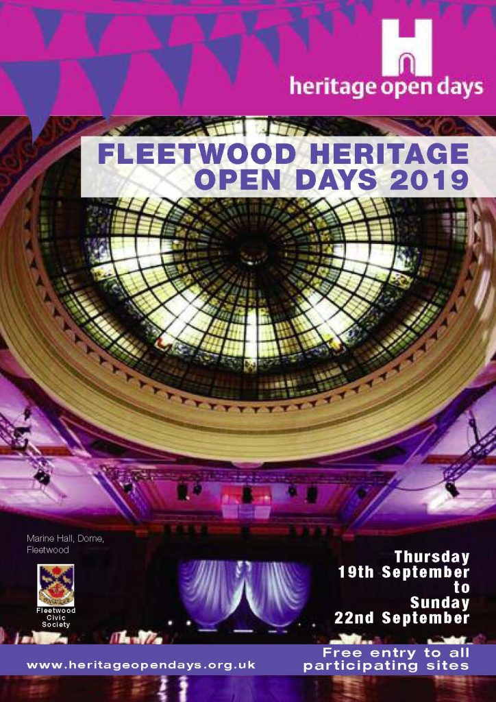 Fleetwood Heritage Open Days 2019