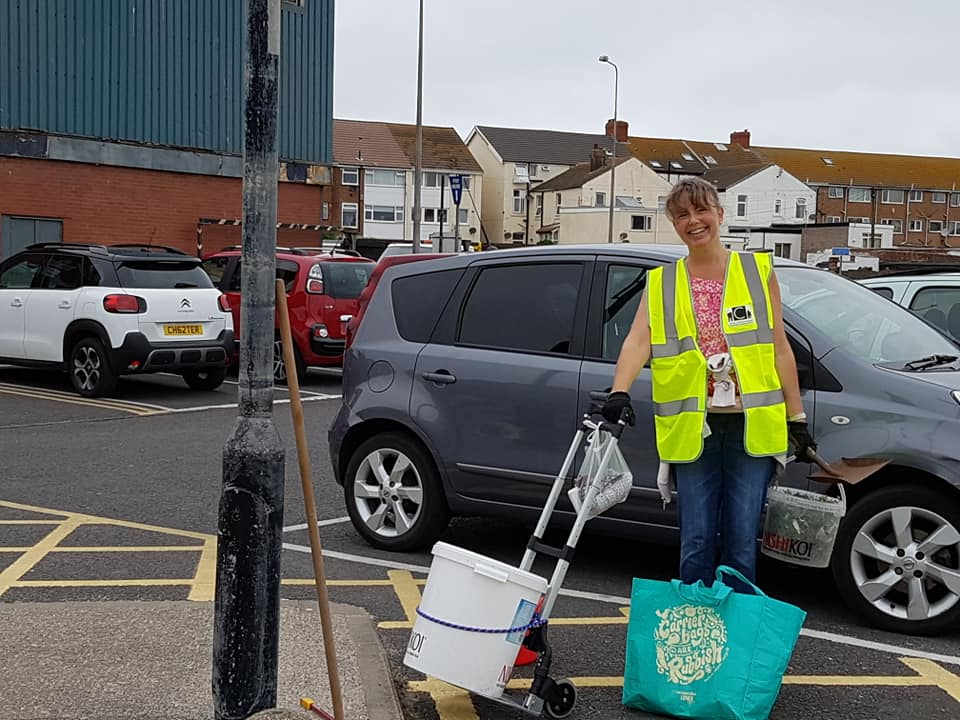 Cleaning up Cleveleys