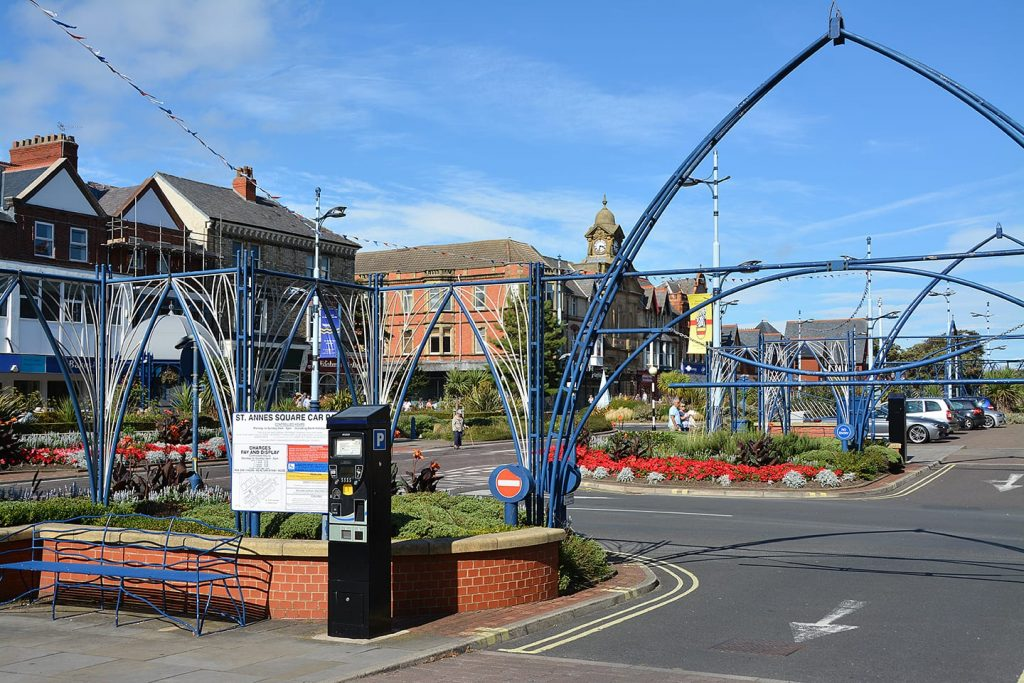 St Annes Town Centre. Shopping on the Fylde Coast