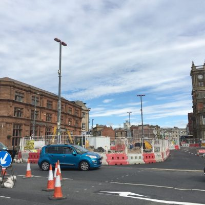 Reopening of Blackpool Promenade