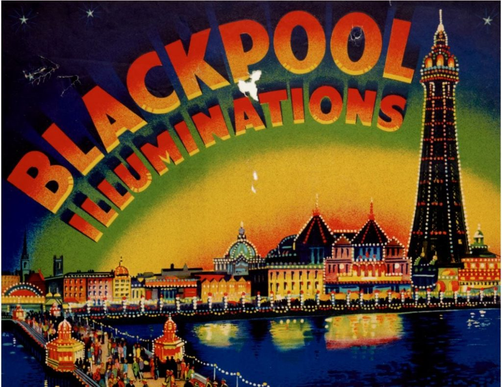 Blackpool Illuminations Archive Exhibition at Grundy Art Gallery