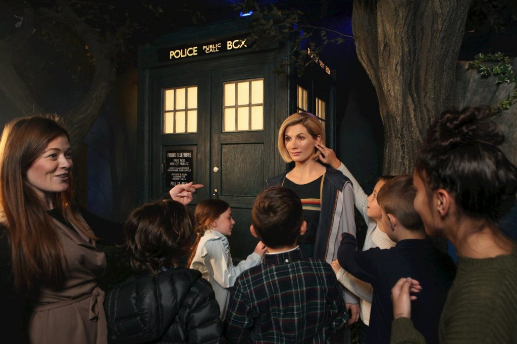 Meet Doctor Who at Madame Tussauds Blackpool