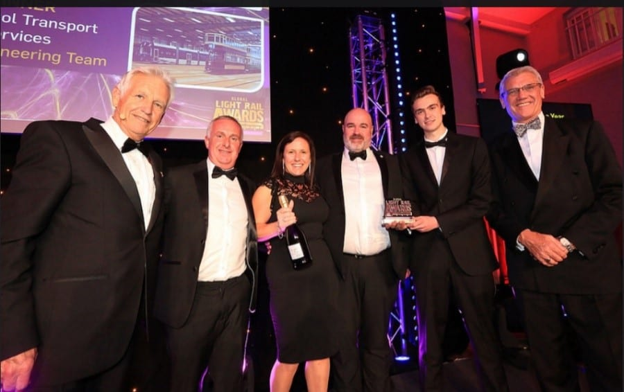 Blackpool Transport wins Team of the Year