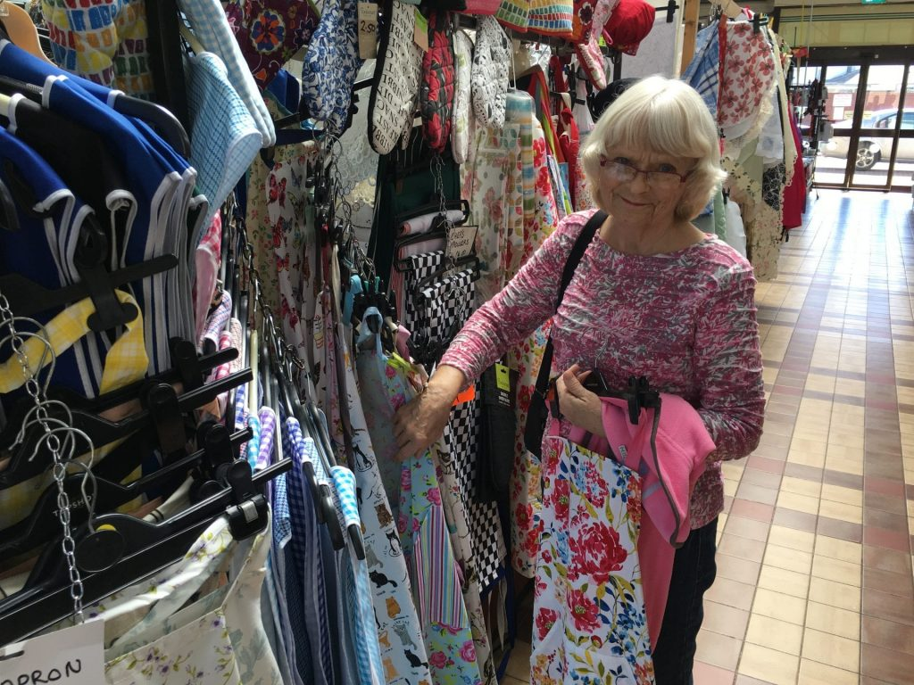 A mooch to Fleetwood market for new pinnies
